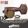 GOTOH SGS510Z-A07-ACU Aged Copper 1:18 L3+R3 with beveled washers